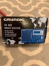 GRUNDIG Yacht-Boy YB-400PE Shortwave RADIO World-Band Receiver Great Conditio D4