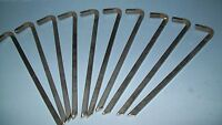 tent stakes- civil war reenactors SOLD IN SETS OF 10 STAKES-FREE SHIPPING