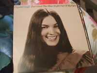 Crystal Gayle, I've Cried The Blue Right Out Of My Eyes, country lp UK MCA