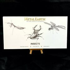 Metal Earth Model 3D Kit Insects Praying Mantis Stag Beetle Dragonfly Steel Diy