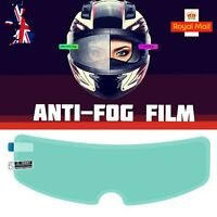 Motorcycle Helmet Visor Anti Fog Film Nano Coating Fog Resistant Film UK Seller
