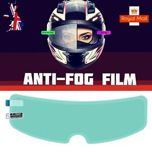 Motorcycle Helmet Visor Anti Fog Film Nano Coating Fog Resistant Film UK Seller