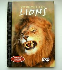 LIONS    .  DVD  FILM   DOCUMENTAIRE