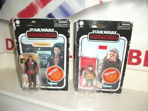 "star wars RETRO COLLECTION BUNDLE Kuill & Greef Karga 3.75"" postage discount"