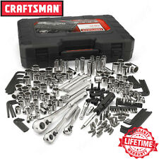 Craftsman 230 Piece Mechanics Tool Set, Alloy SAE Metric Socket Wrench w/ Case