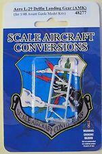Aero L-29 Delfin Landing Gear for 1/48th Scale Avant Garde Model Kits SAC 48277