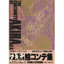 Akira The Continuity Of Akira storyboard book #2