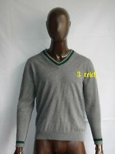 WWII German WH Elite Gray Cashmere Sweater Repro