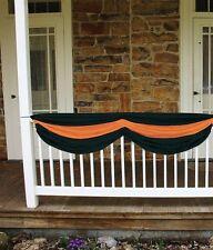 *Halloween FABRIC BUNTING Orange and Black*Great for Vintage Retro Decor*