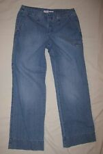 Tommy Hilfiger Low-Rise jeans sz 6 Wideleg 32 x 31 NICE *FREE SHIPPING*