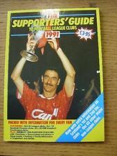 1991/1992 partidarios de guía: a los clubes de liga de fútbol, 7th edición (algunos página