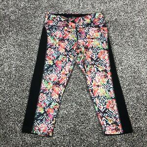 LuLuRoe Simply Comfortable Leggings Women's Cropped Geometric Multicolor XS