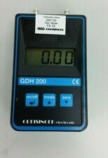 Greisinger GDH 200-07 Digital Vacuum Barometer and Manometer