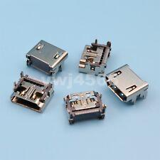 5Pcs HDMI Type A Female 19Pin 4 Legs SMT Solder Socket Jack Connector