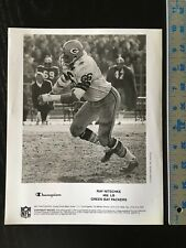 NFL GREEN BAY PACKERS RAY NITSCHKE B&W PROMO CHAMPION SPONSORED PHOTO 21919
