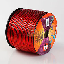 Road Rage 8 Gauge 250 FT Xtreme Hight Performance Wire Cables Red 250' 8 AWG