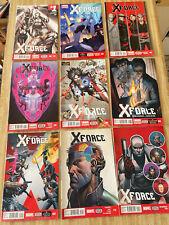 X-Force Vol 4 #1, #4 - #11 by Simon Spurrier Rock-He Kim (2014, Marvel)