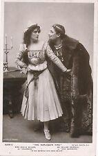 POSTCARD  ACTRESSES   Evelyn Millard &  William  Devereux