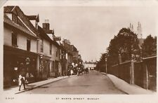 BUNGAY( Suffolk) : St Marys  Street  RP-WHS 'Kingsway' series