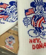 "40s & Shorties ""Hey, Donald!"" Crew Socks & Pin"