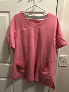 Pink Carhartt Scrub Set 2XL Top & XL Bottom FREE SHIPPING