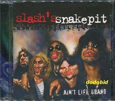 SLASH'S SNAKEPIT Ain't Life Grand 14-Track [CD+2 bonus] Guns N' Roses Slash New