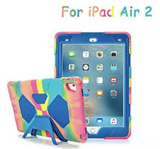 Aceguarder- Ice Blue Heavy Duty iPad Air 2 Case With Kickstand