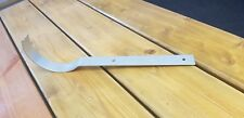 "Galvanised gutter bracket / hook. Designed to fit  6"" cast iron pipe"