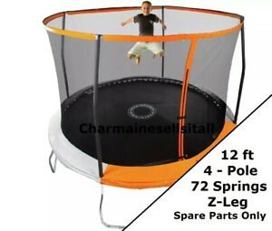 NEW PARTS for Sportspower 12 Ft Trampoline - 2019 Orange and Black 4-pole model