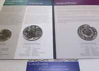UK 2017 ROYAL MINT 5 coin set 2 x £5 2 x £2 1 x 50p JANE AUSTIN ,ISAAC NEWTON