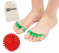 Toe Separators & Yoga Massage Ball for Bunions, Pedicure, Hammertoe, Pain Relief