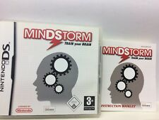 MINDSTORM TRAIN YOUR BRAIN  NINTENDO DS  USATO