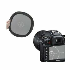 "12"" High quality 17.8% Reflectance Grey White Balance Double Focus Board NEW"