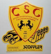 Pegatina Csc Sportauspuff-Anlagen Colector Pegatinas Fiat Alfa Abarth Lancia