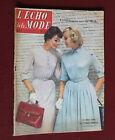 Mars 1957 L'écho de la mode N°12 Hebdomadaire féminin vintage couture rétro