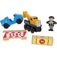 Thomas And Friends Wood Butch's Road Rescue Train Set NEW