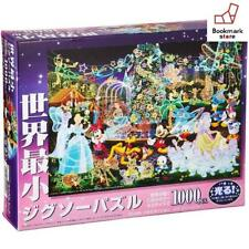 New Disney 1000 piece puzzle  magical illumination Glittering F/S from Japan