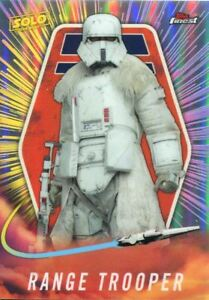 Star Wars Finest 2018 A Solo Story Chase Card SO-16 Range Trooper