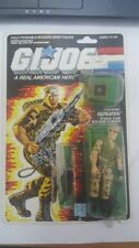 Vintage 1987 G.I.JOE REPEATER 100% COMPLETE WITH FULL FILE CARD