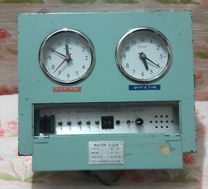 Tic Citizen Type - Txs - 70s Master Clock Marine Nautical Make Japan