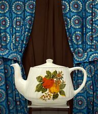New ListingEnoch Wedgewood (Tunstall) English Harvest China Teapot ca.1965 Superb Vintage