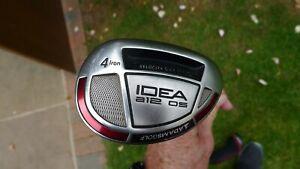 Adams Idea a12 os No 4 hybrid regular flex in good condition