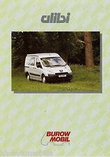 0001BUR Burow Mobil Alibi Prospekt 2008 Reisemobil Wohnmobil brochure motorhome