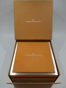 GIRARD-PERREGAUX GP Watch & Chrono Gift Presentation Display Box and Cartons Set