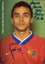 Fábio José dos Santos - FC Basel - Fußball Original Autogramm Autograph (M-2512