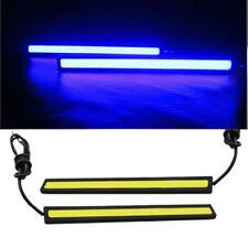 1PCS Ultra Blue & Bright Car COB LED Lights DRL Fog Driving Lamp Waterproof 12V#