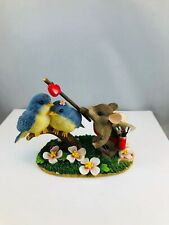 Charming Tails Love Birds 84/110 Figurine