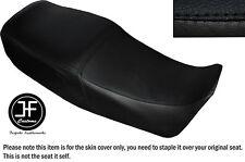 BLACK AUTOMOTIVE VINYL CUSTOM FOR SUZUKI GS 450 E DUAL SEAT COVER ONLY