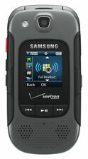 Samsung Convoy 3 SCH-U680 Black Verizon Flip Cell Phone Gray SCH-U680MAV Rugged