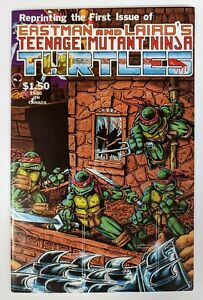 TEENAGE MUTANT NINJA TURTLES Vol 1 #1 4th Fourth Print - 1985 NM Mirage TMNT